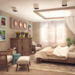 Этно-стиль спальни