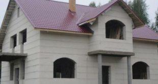 Строительство дома из газосиликатных блоков
